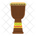 African djembe drum Icon