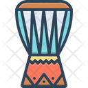African Drum Drum Instrument Icon