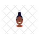 African Girl Young Girl Woman Icon
