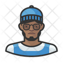 African Hipster African Hipster Icon