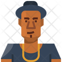Avatar African Man Icon