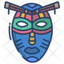 African Mask Icon