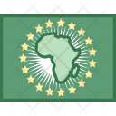 African Union Flag Icon