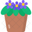 African Violet Icon