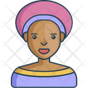 African woman Icon