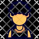 Afro Avatar Female Icon