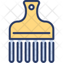 Afro Comb Clipper Icon