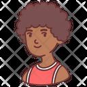 Afro man Icon