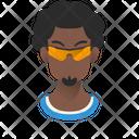 Afro Guy Icon