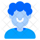 Afro Hair Curly Profile Icon