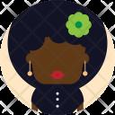 Afro Woman Avatar Icon