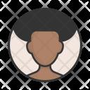 Afroamerican Accoun Afro Icon
