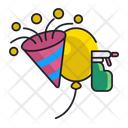 After Party Cleaning Icon