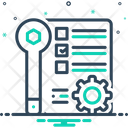 Afterservice Repair Wrench Icon