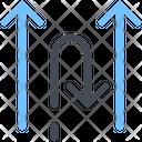 Against Detach Oppose Icon