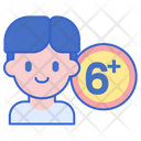 Age Limit Age Restriction Restrication Icon
