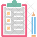 Agenda Checklist Plan List Icon