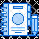 Agenda Catalogue Diary Icon