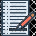Agenda Order Paper Paper Icon