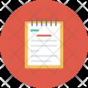 Agenda Book Diary Icon