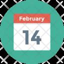 Agenda Calendar Date Icon
