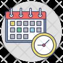 Agenda Timetable Time Icon