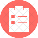 Agenda List Agenda Plan Checklist Icon