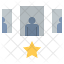 Agent Leader Manager Icon