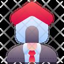 Agent Broker Resident Icon