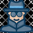 Agent Anonymous Anonymity Icon