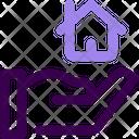 Agent Home Broker Realtor Icon