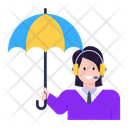 Assistant Insurance Agent Insurance Customer Support Icon