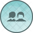Agents Clients Broker Icon