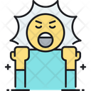 Aggression Agrressive Angry Icon