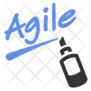 Agile Marker Training Icon