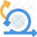 Agile Iteration Scrum Icon