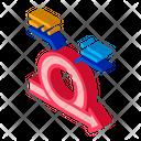 Arranging Arrow Business Icon