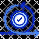 Agile Iteration Scrum Icon