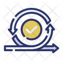Agile process Icon