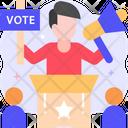 Agitation Agitation Voting Icon