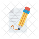Sign Agreement Write Icon