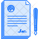 Agreement Pen Contract Icon