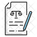 Agreement Court Document Document Icon