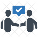 Agreement Collaboration Handshake Icon