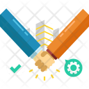 Agreement Support Contract Icon