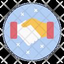 Agreement Relationship Handshake Icon