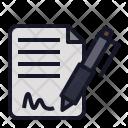 File Aggreement Mou Icon