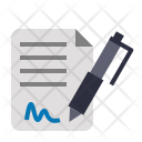 File Aggreement Mou Icon