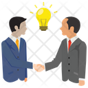 Agreement Partnership Handshake Icon