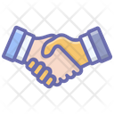 Agreement Deal Handshake Icon